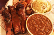 Barbecue Smoked Beans with St. Louis Spare Ribs