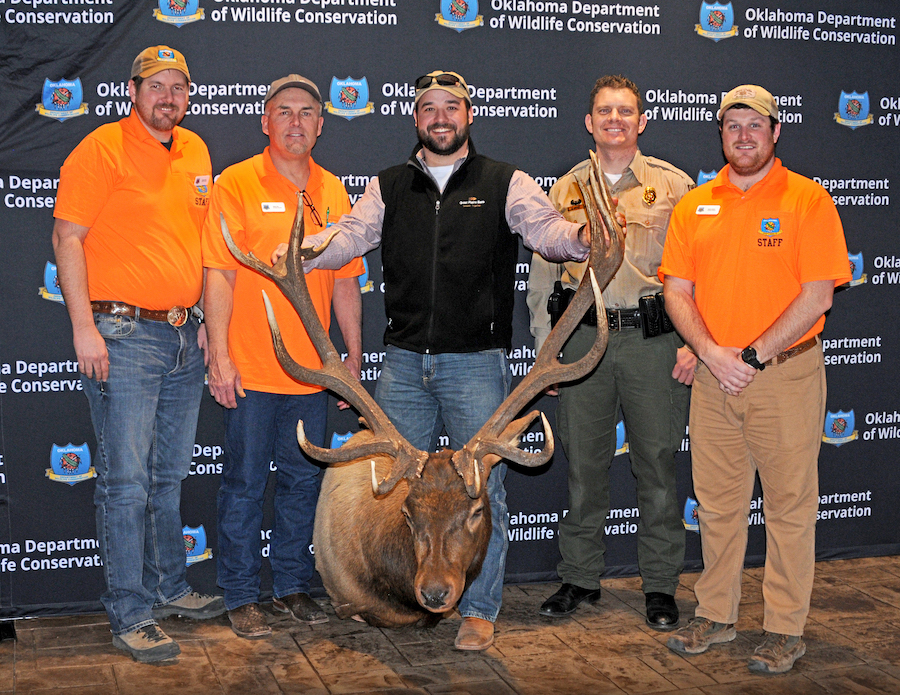 Oklahoma Outdoor News: Cy Curtis State-Record Elk Emerges from March Rack Madness