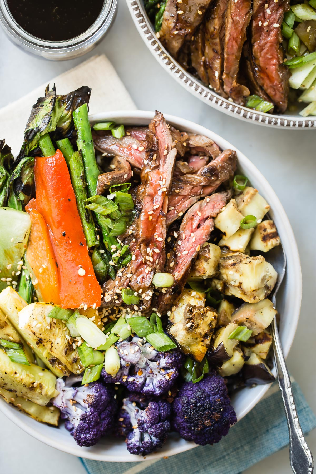 Grilled Steak & Veggies Bowl